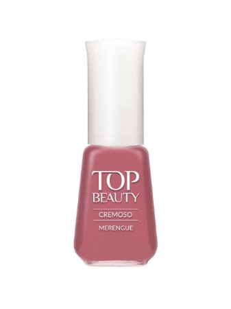 Esmalte Top Beauty Cremoso Merengue - 6 unidades