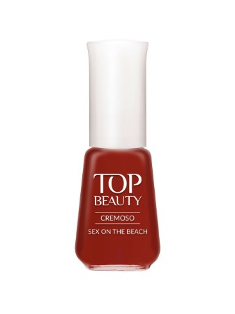Esmalte Top Beauty Cremoso Sexy On The Beach  (Caixa com 6)