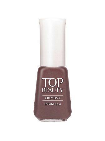 Esmalte Top Beauty Cremoso Espanhola (Caixa com 6)