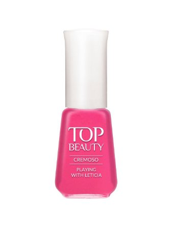 Esmalte Top Beauty Cremoso Playing Leticia - 6 unidades