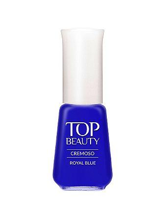 Esmalte Top Beauty Cremoso Royal Blue (Caixa com 6)