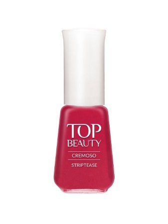 Esmalte Top Beauty Cremoso Streptease (Caixa com 6)