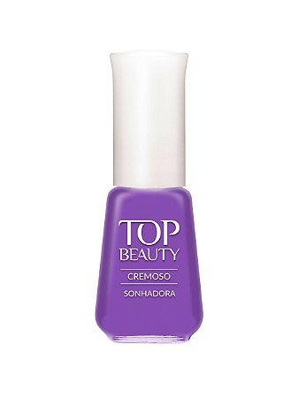Esmalte Top Beauty Cremoso Sonhadora  (Caixa com 6)