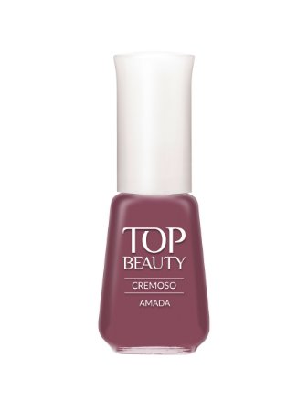 Esmalte Top Beauty Cremoso Amada (Caixa com 6)
