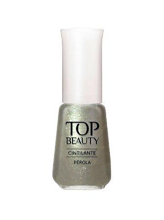 Esmalte Top Beauty Cintilante Perola  (Caixa com 6)