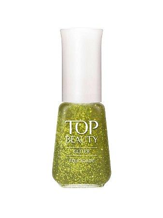 Esmalte Top Beauty Gliter Felicidade (Caixa com 6)