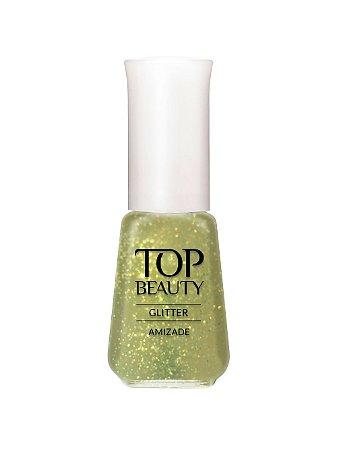 Esmalte Top Beauty Gliter Amizade(Caixa com 6)