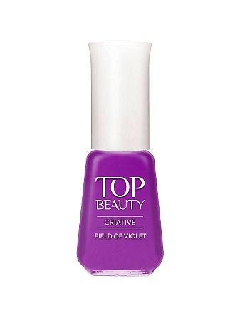 Esmalte Top Beauty Creative Field of Violeta - 6 unidades