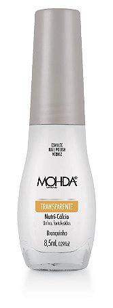 Esmalte Mohda Transparente Branquinho - 6 unidades