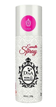 Esmalte em Spray Galia  Diva