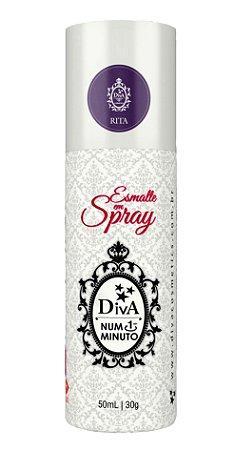 Esmalte em Spray Rita Diva