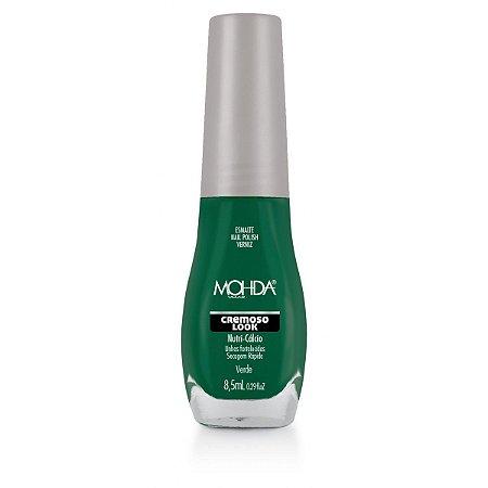 Esmalte Mohda  Cremoso look Verde - 6 unidades