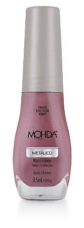 Esmalte Mohda Metalico Rose Chome ( Caixa com 6 )