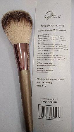 Pincel Profissional Maquiagem 60201 (Embalagem com 3)
