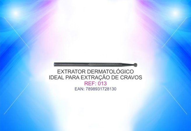CURETA EXTRATOR DERMATOLÓGICO PARA CRAVOS
