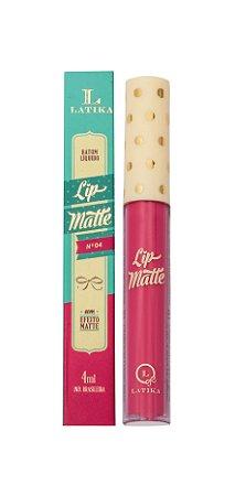 Lip Matte Latika Batom Líquido Rosa nº4 (Caixa com 6) - ATACADO