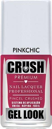 Esmalte Crush Pink Chic Gel Look - 6 unidades