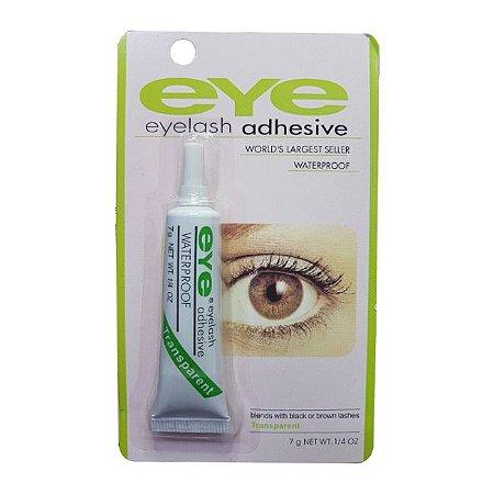 Cola para Cílios Portiços Transparente a Prova D'Agua Eye Eyelash Adhesive 7g - 3 Unidades