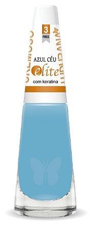 Esmalte Ludurana 3 Free Azul Céu- caixa com 6
