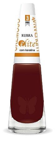 Esmalte Ludurana Rubra Marrom - caixa com 6