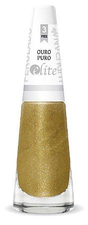 Esmalte Ludurana Ouro puro perolado - caixa com 6