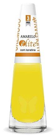 Esmalte Ludurana Amarelo - 6 unidades
