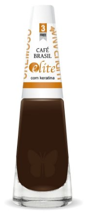 Esmalte Ludurana café Brasil Preto- 6 unidades