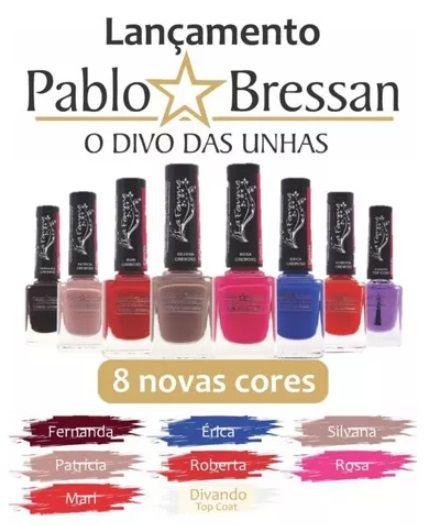Esmalte Lafemme coleção Pablo Bressan O Divo Das Unhas Coleção - 48 esmaltes