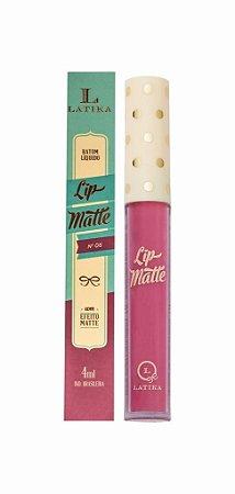 Batom Latika Lip Matte n°06 - 6 unidades
