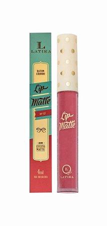 Batom Latika Lip Matte n°13 - Caixa com 6