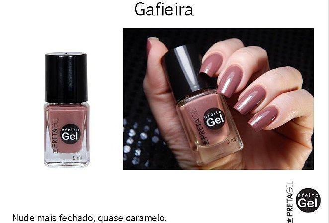 Esmalte Preta Gil Efeito Gel Gafieira - 6 unidades