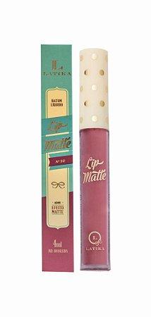 Batom Latika Lip Matte n° 50 - Caixa  com 6