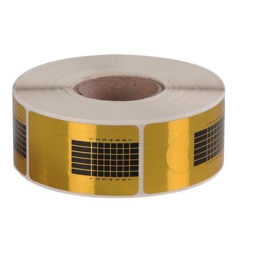 Moldes Adesivos Para Unhas Gel com 500 Unidades kit com 3
