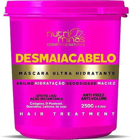 mascara desmaia cabelo nutriminas - 3 unidades