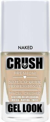 Esmalte Crush Gel Look Naked - 6 unidades