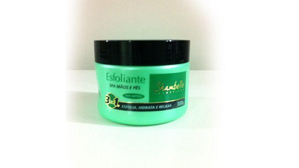 Esfoliante spa mãos e pés shambelle 300 ml -  3 unidades