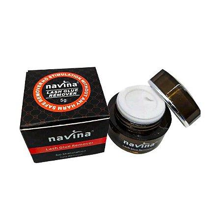 Removedor De Cola de Cílios Navina Em Gel Original 5g - 3 Unidades