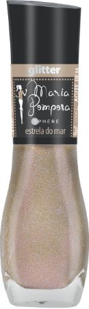 Esmalte Maria Pomposa Estrela do mar 5 free - 6 unidades