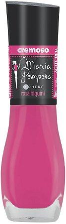 Esmalte Maria Pomposa Rosa Biquine 5 free - 6 unidades