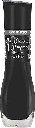 Esmalte Maria Pomposa Super Blak 5 free - 6 unidades