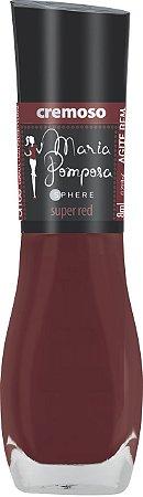 Esmalte Maria Pomposa Super Red 5 free -caixa com 6