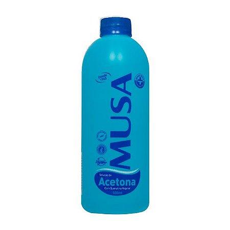 Solução a Base de Acetona com Queratina Musa - 500 ml - 3 Unidades