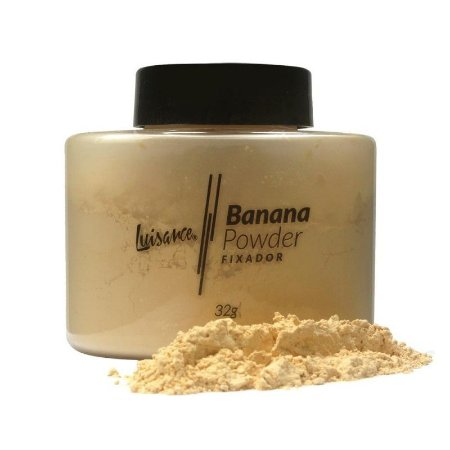 Pó Banana Powder Fixador - Luisance  - 3 unidades