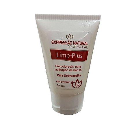 Shampo Gel Limpeza Profunda Limp Plus Pré Coloração para Sobrancelhas Expressão Natural 30g - 3 Unidades