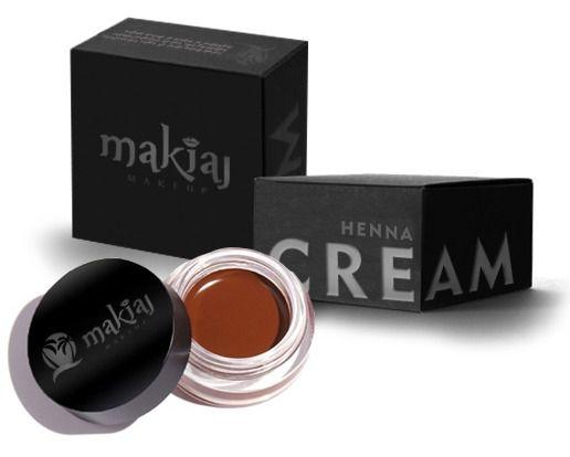 Henna Cream Makiaj  Castanho Claro - 3 unidades
