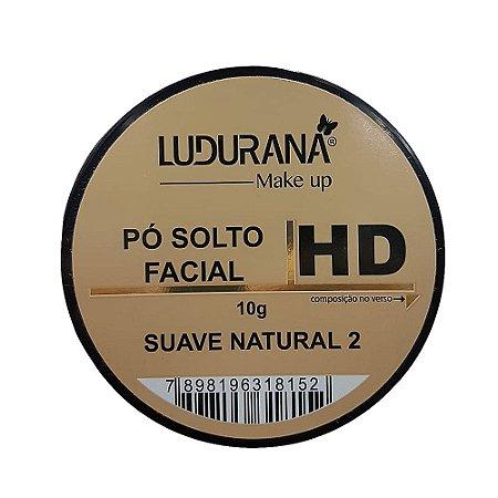 Po solto facial Ludurana Suave Natural 2 - 3 unidades