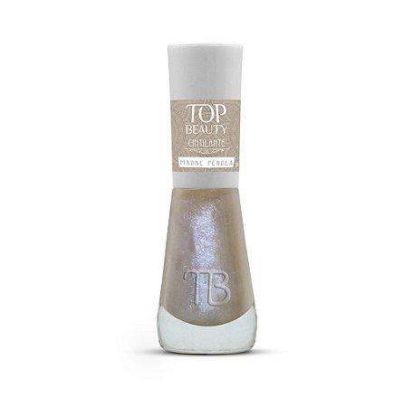 Esmalte Premium Cintilante Top Beauty 9ml MadrePêrola - 6 Unidades