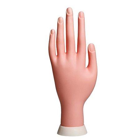 Mão Flexível Silicone Treino Alongamento Unhas Gel Polygel - 3 Unidades