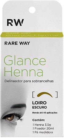 Henna Glance Louro Escuro - 3 unidades atacado