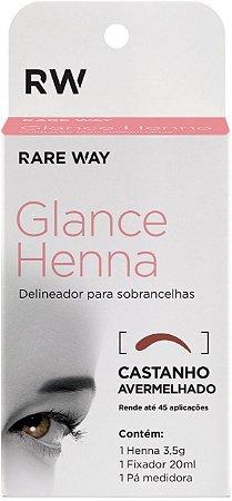 Henna Glance Castanho escuro - 3 unidades Atacado
